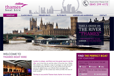 Project Thames Boat Hire